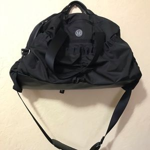 Lululemon Large Travel/ Gym Bag Black